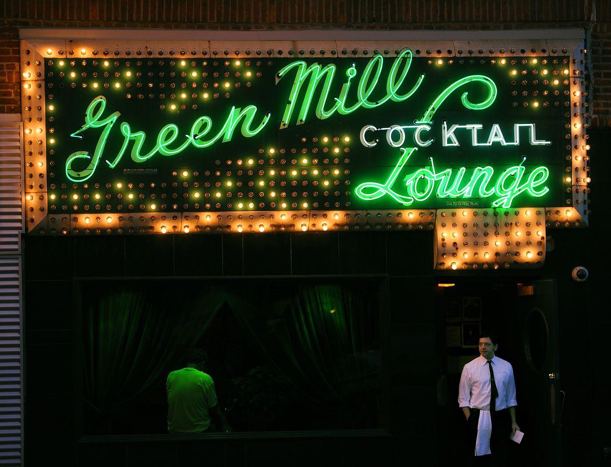 The Green Mill Cocktail Lounge at 4802 N. Broadway in Uptown.