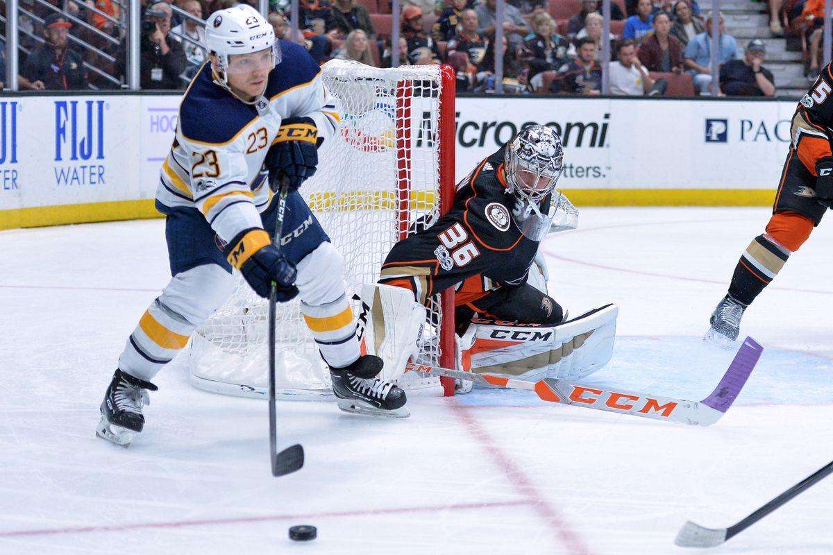 NHL: Buffalo Sabres at Anaheim Ducks