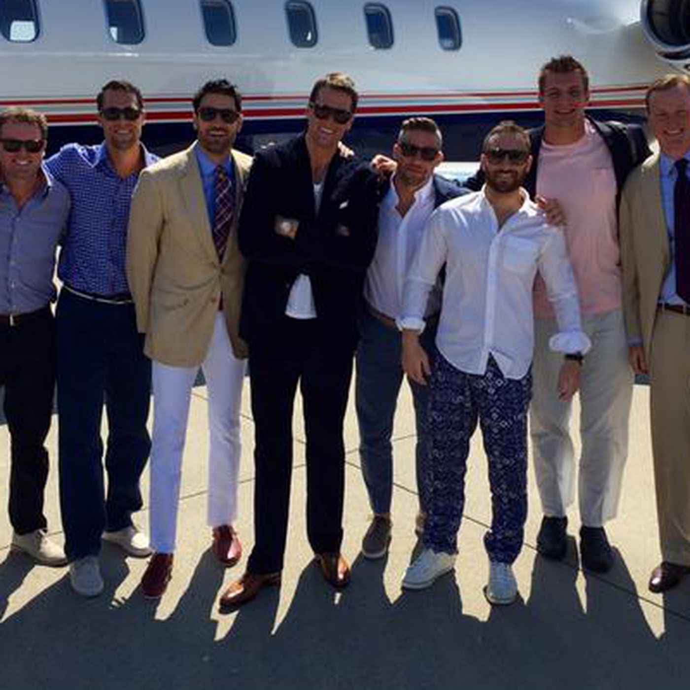 The Patriots are bro-ing out at the Kentucky Derby