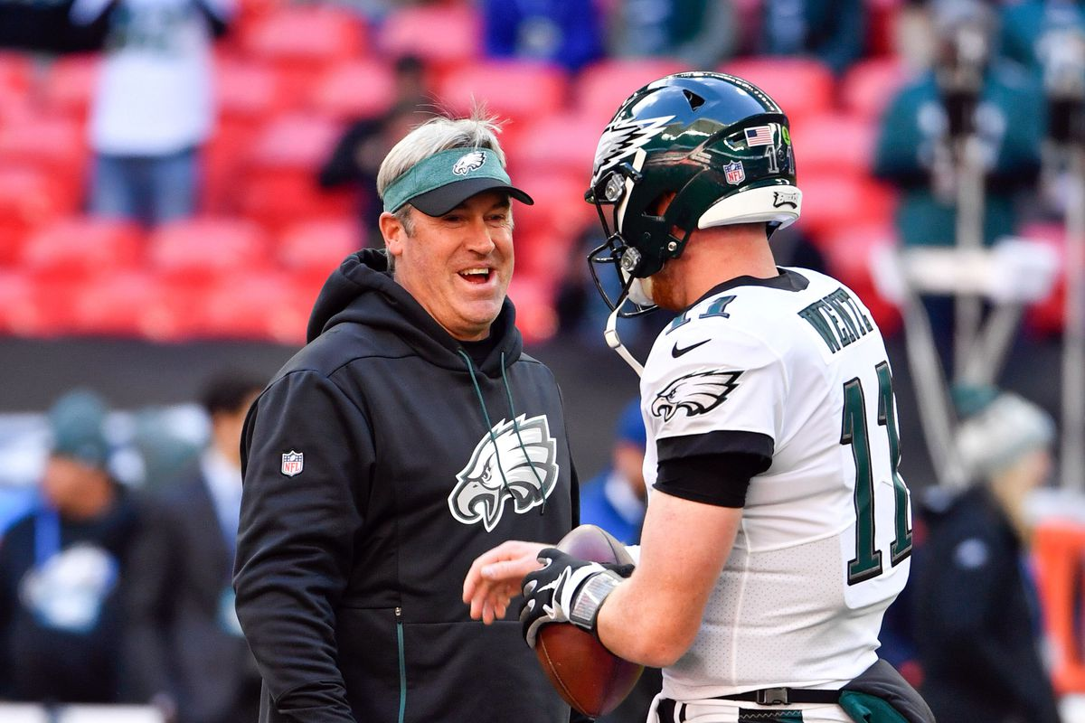 aec66424d89 Eagles News: Perspective on Doug Pederson and Carson Wentz ...