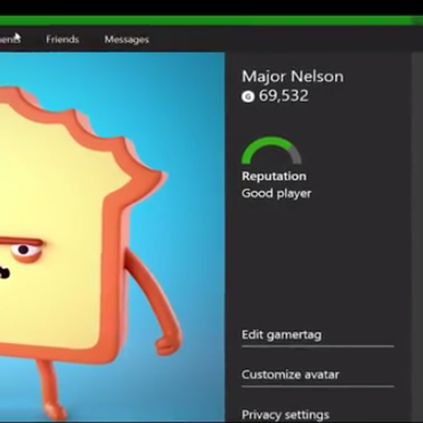 Xbox Com S New Profile Page Will Let You Watch Xbox One Gameplay Clips Polygon