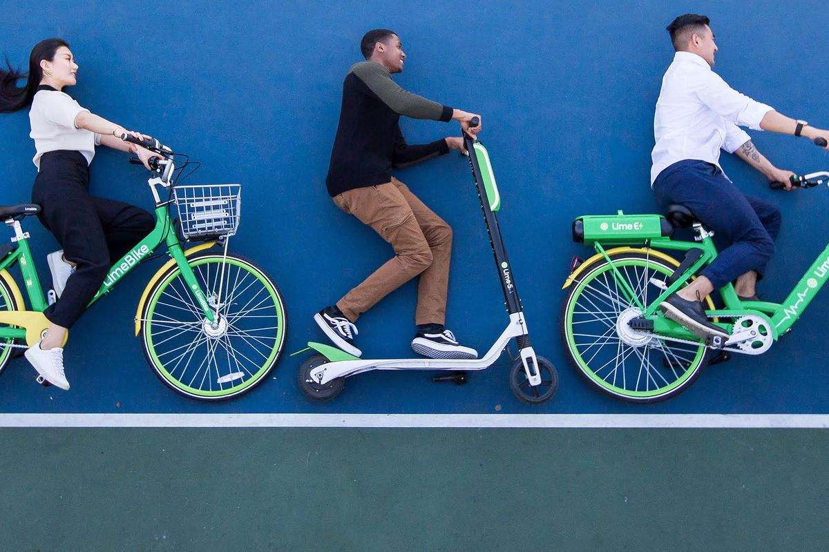 Bike Scooter Share Startups Take Atlanta By Storm With Another Electric Relay Lime Plans To Offer And Options Atlantas Already Active Market