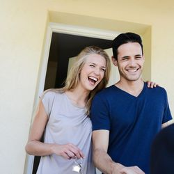 Couples who aren't married increasingly choose to live together, but if they mingle their finances and credit by taking on a mortgage together, complications can arise should they split up.