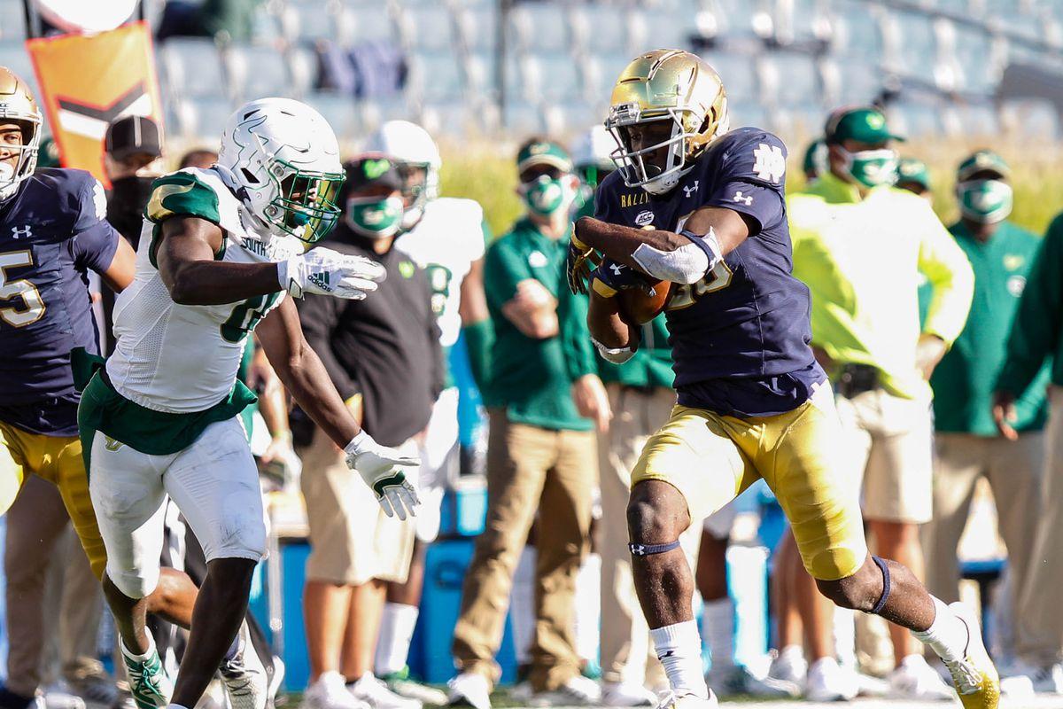 Notre Dame vs South Florida