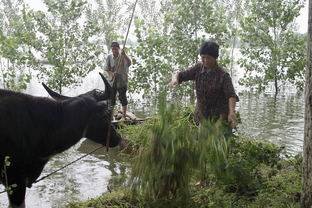 Huai River Floods In China