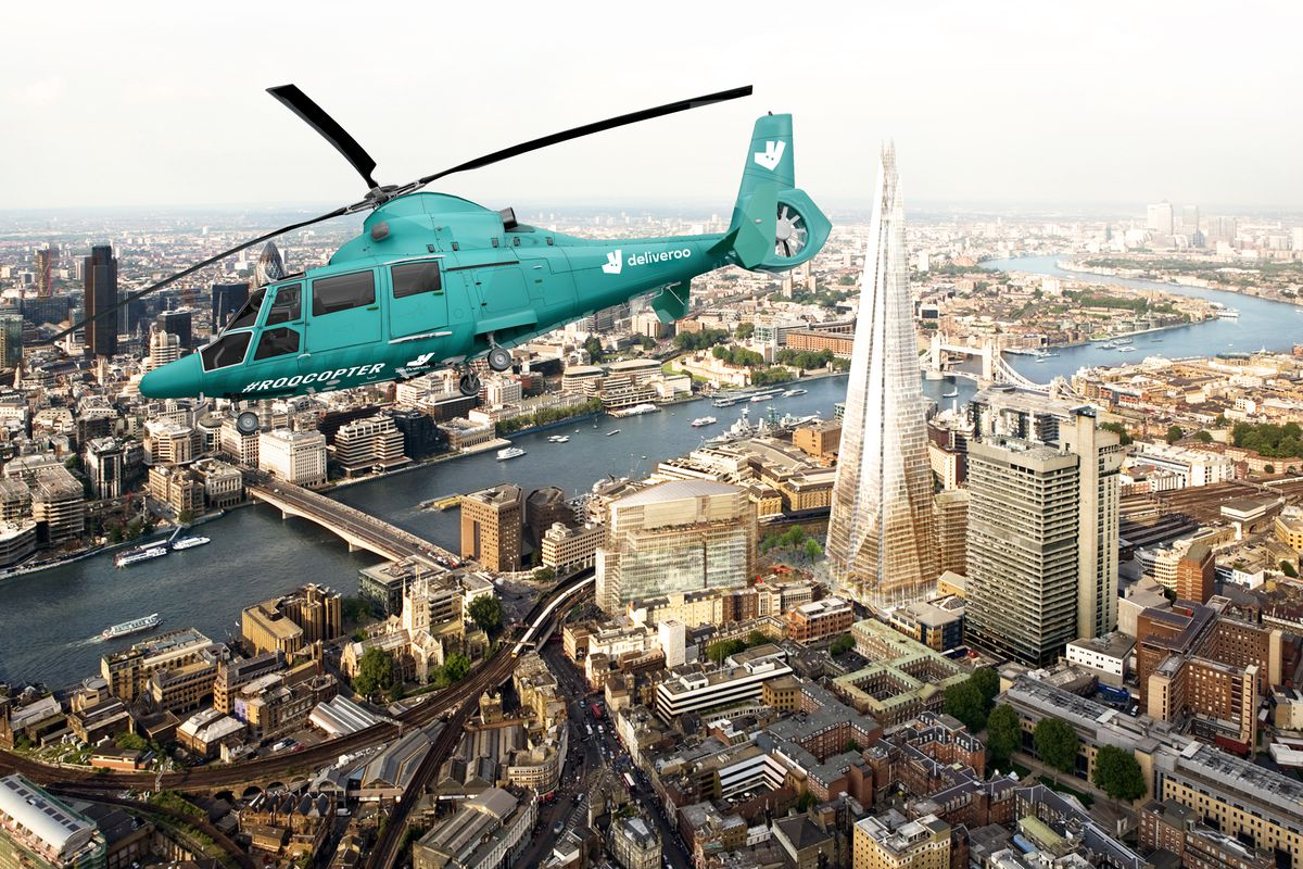Deliveroo Adds Helicopter Experience With Wagamama And