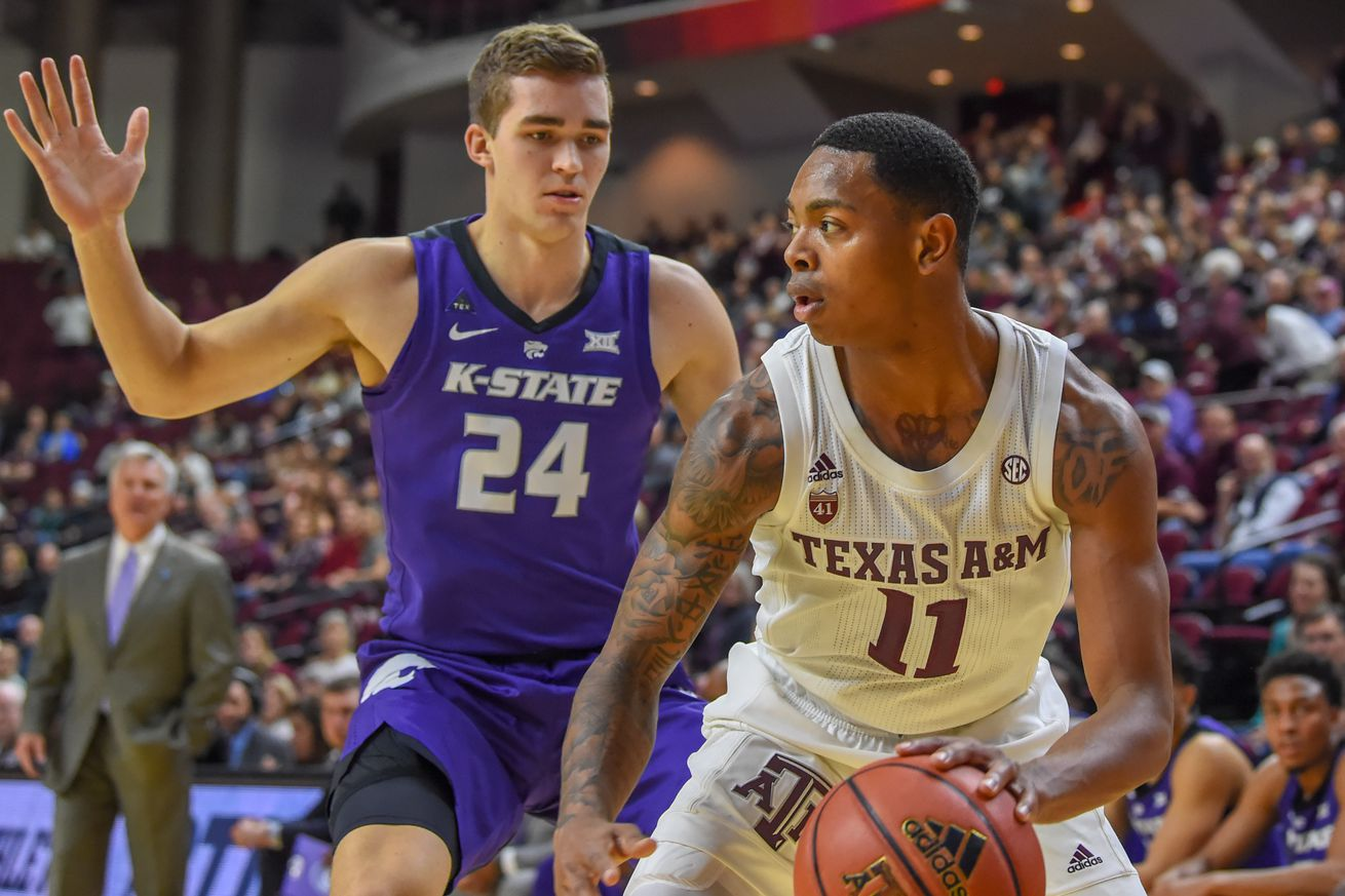 COLLEGE BASKETBALL: JAN 26 Kansas State at Texas A&M
