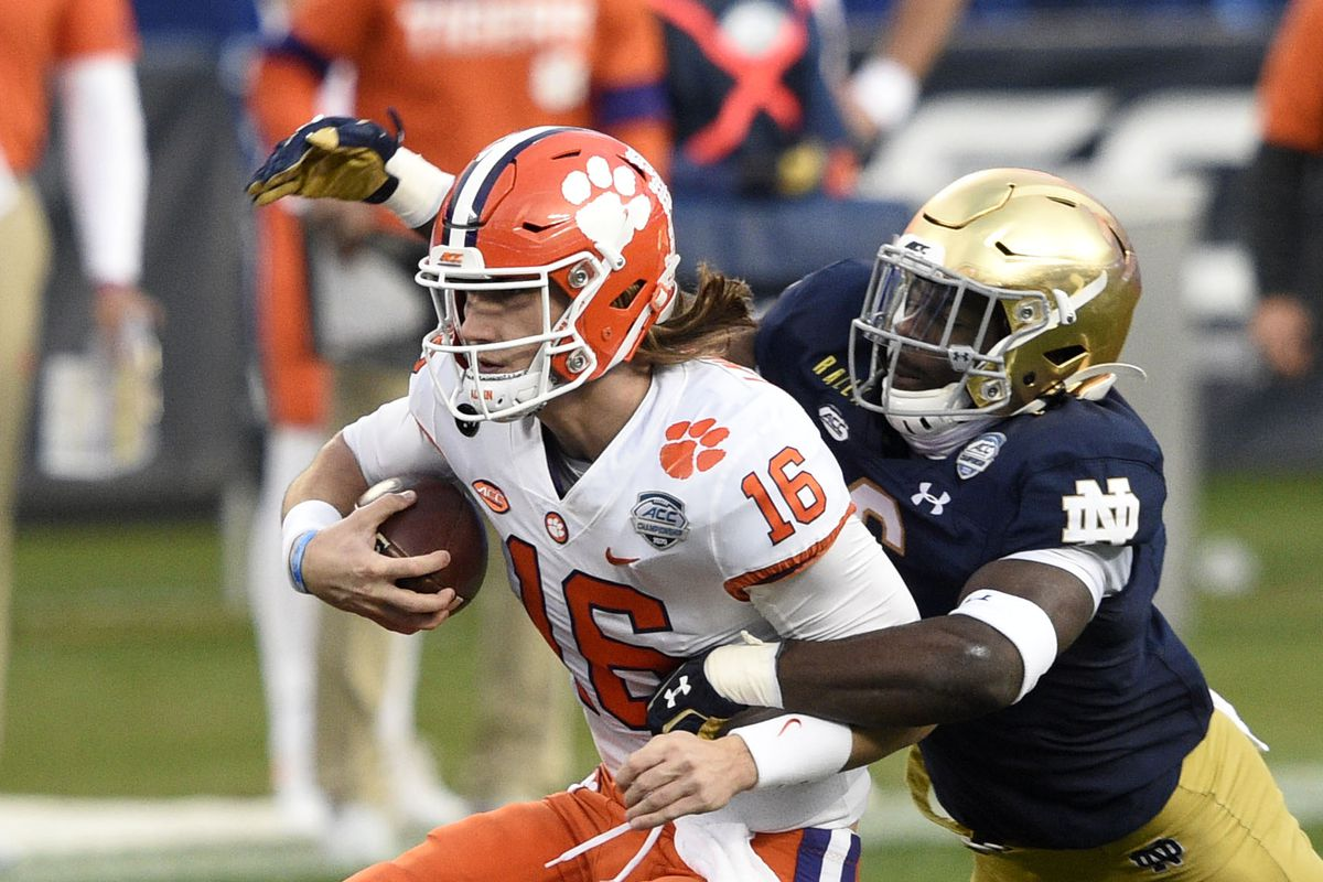 NCAA Football: ACC Championship-Notre Dame at Clemson