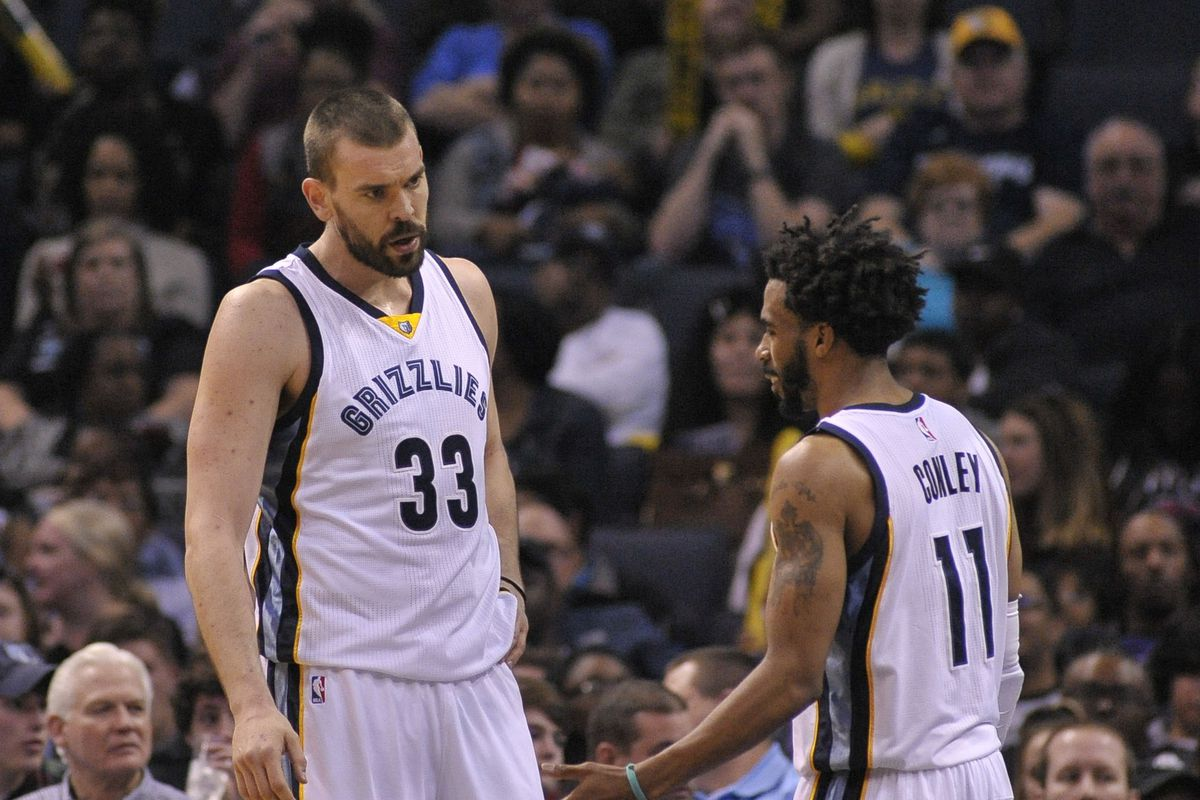 premium selection 6406d c15cc The golden years of Marc Gasol and Mike Conley - Grizzly ...