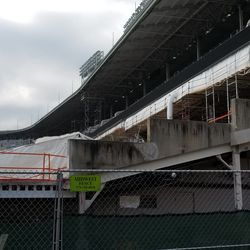 """Another view of the """"steps"""" and the LF upper deck"""