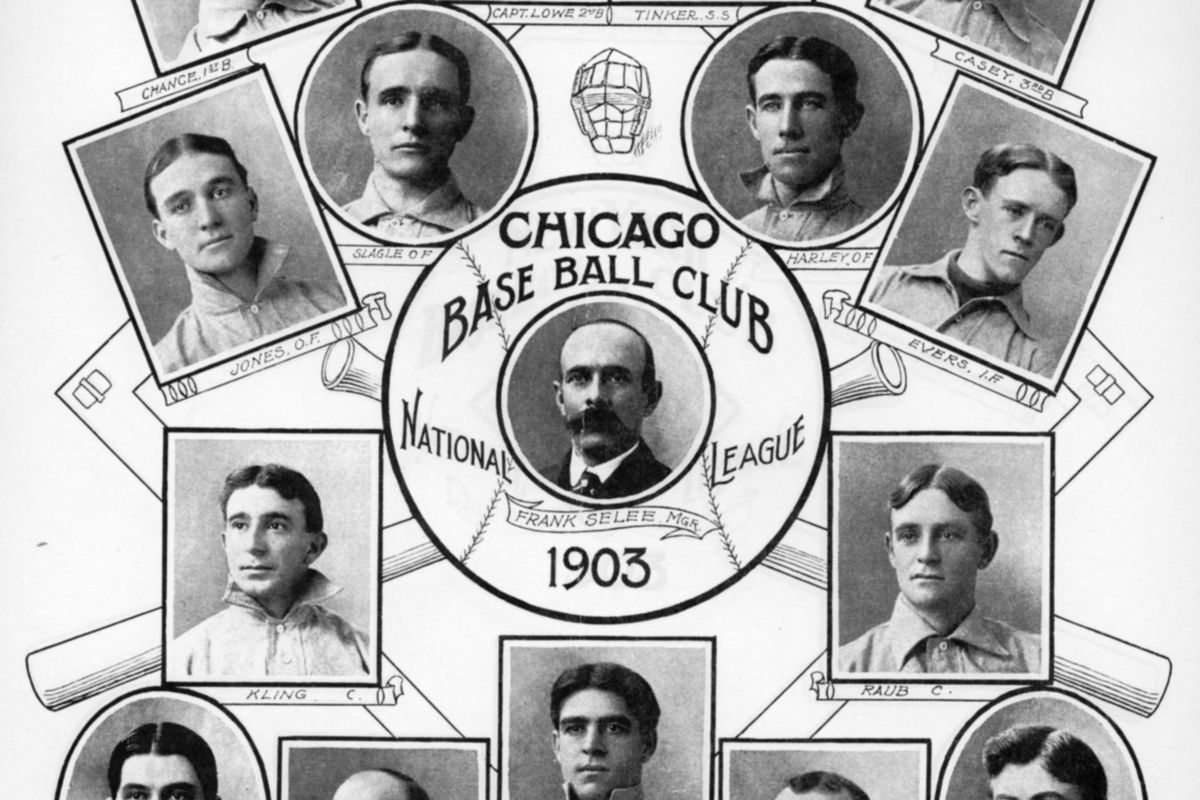 Chicago Cubs 1903 Sporting Life
