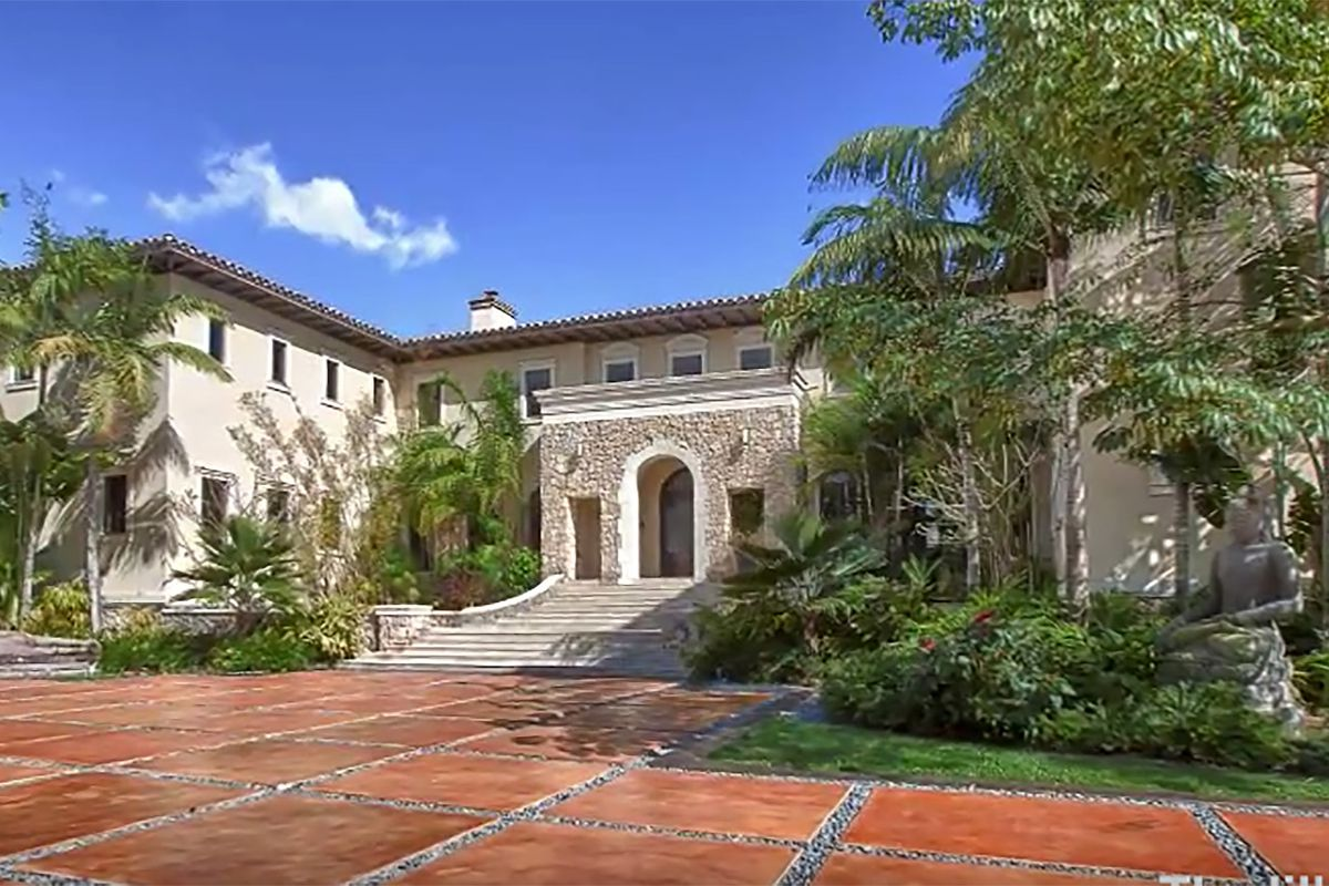 Ray Allen house in Coral Gables, FL