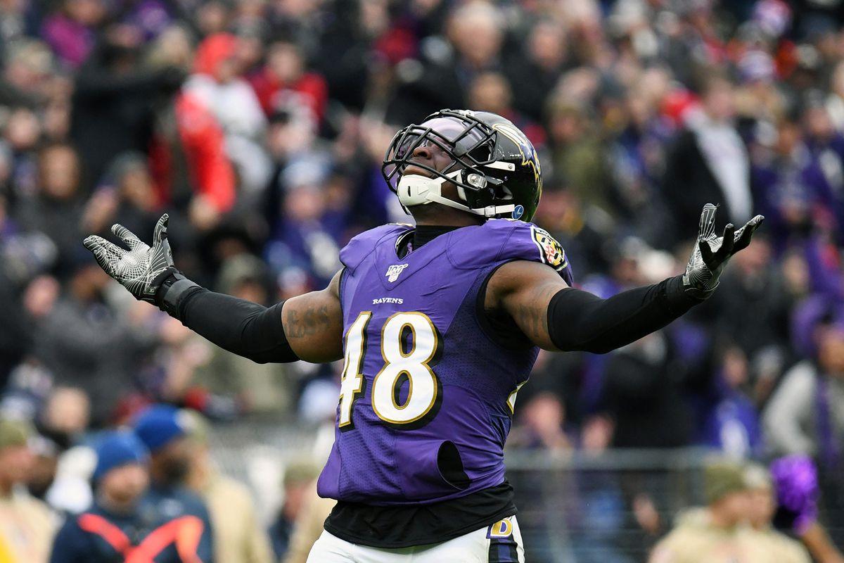 Jets reportedly sign former Ravens inside linebacker Patrick Onwuasor