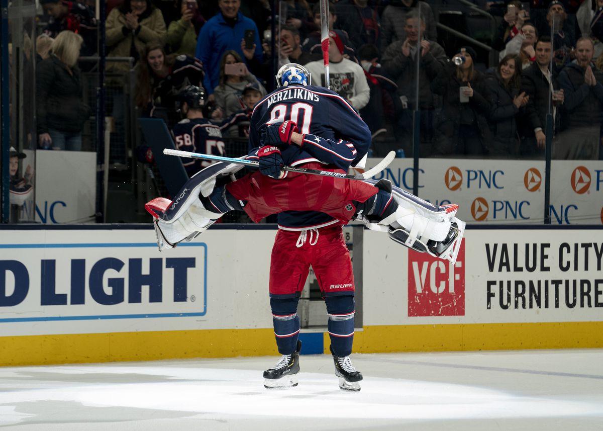 NHL: JAN 18 Devils at Blue Jackets