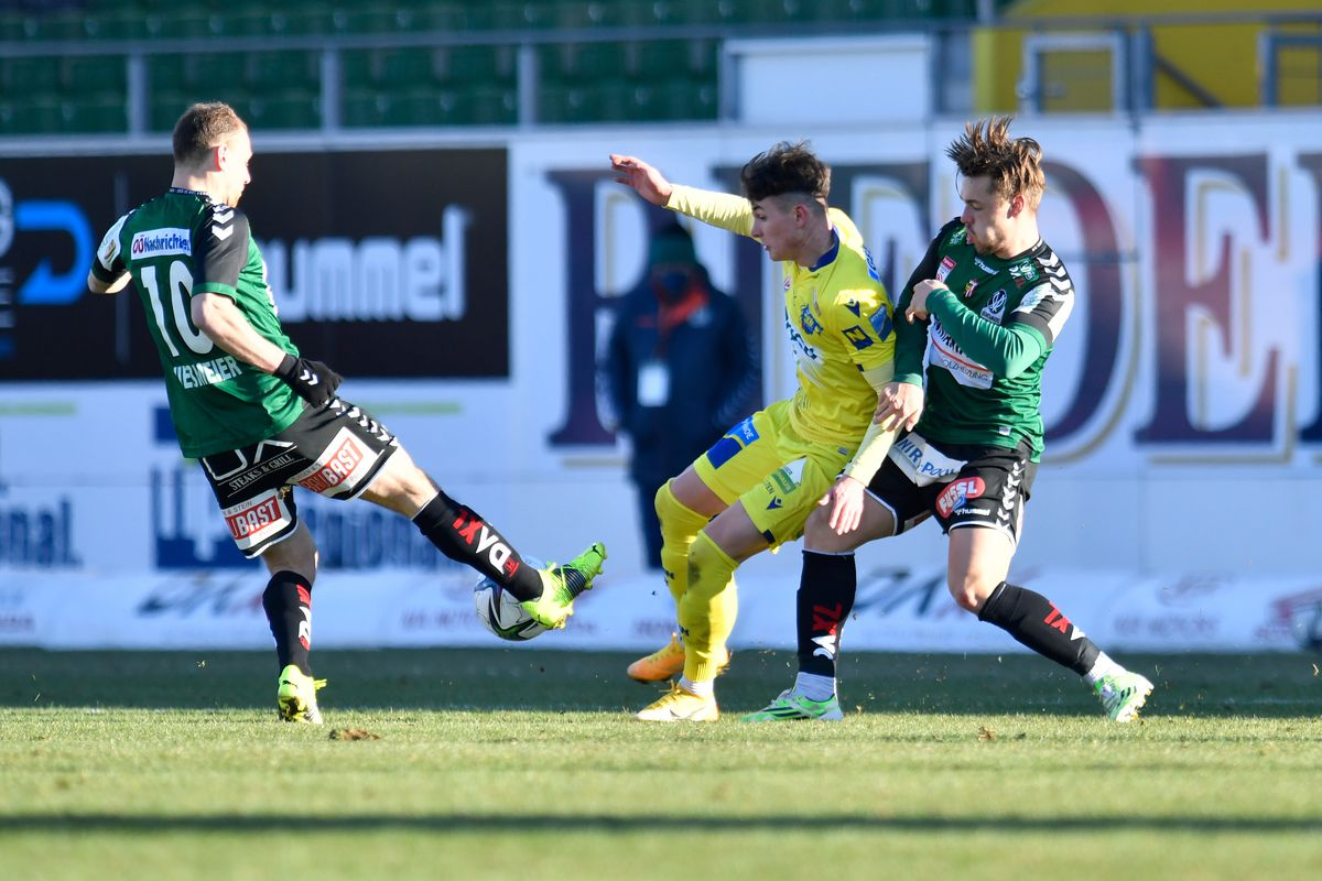 SV Guntamatic Ried v spusu SKN St. Poelten - tipico Bundesliga