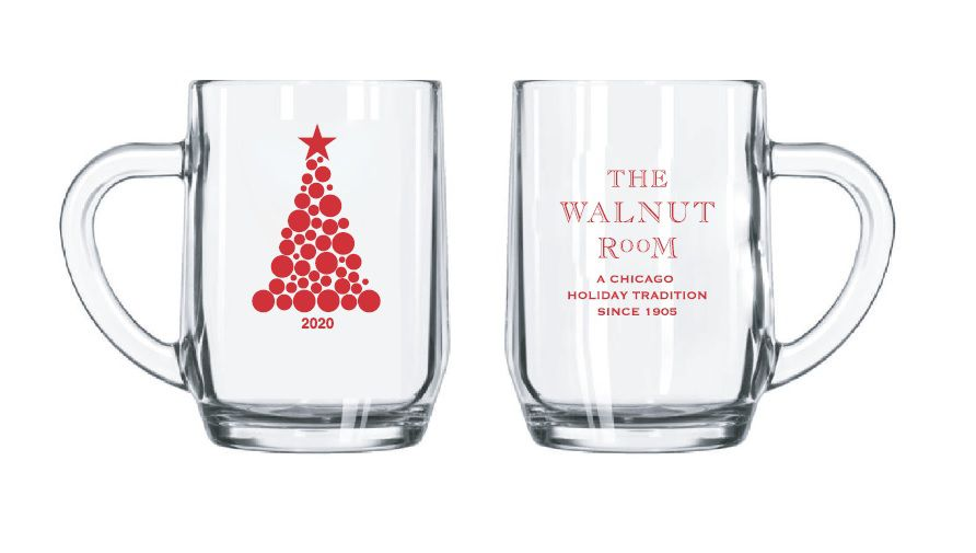 Children dining in the Walnut Room will receive a Macy's commemorative mug.