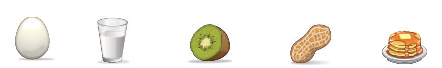 Food Emojis November 12
