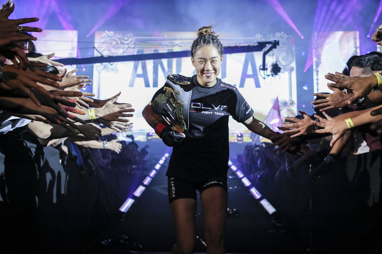 Angela Lee won't compete at Friday's ONE Championship event in Singapore.