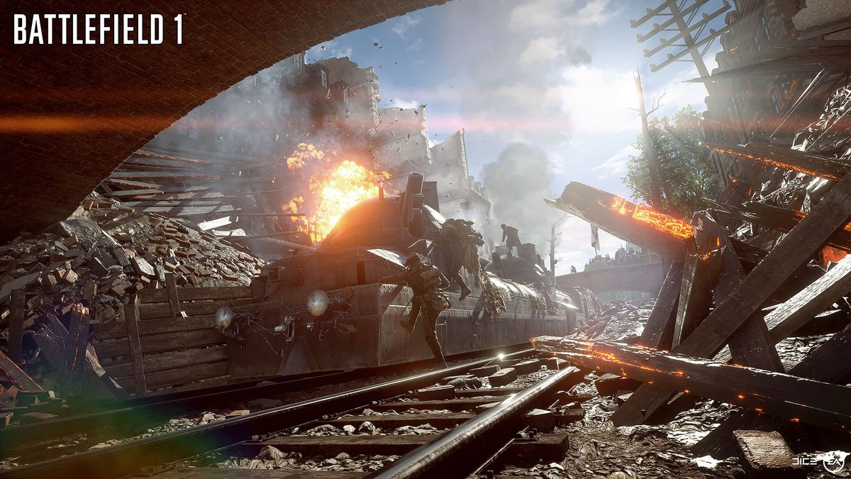 Battlefield 1 Delivers Tide Turning Behemoth Vehicles Procedural