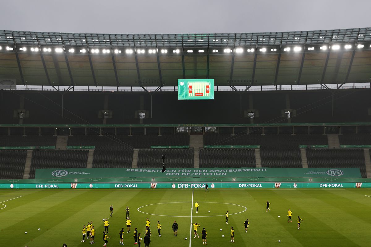 DFB Cup Final 2021 - Training & Press Conference