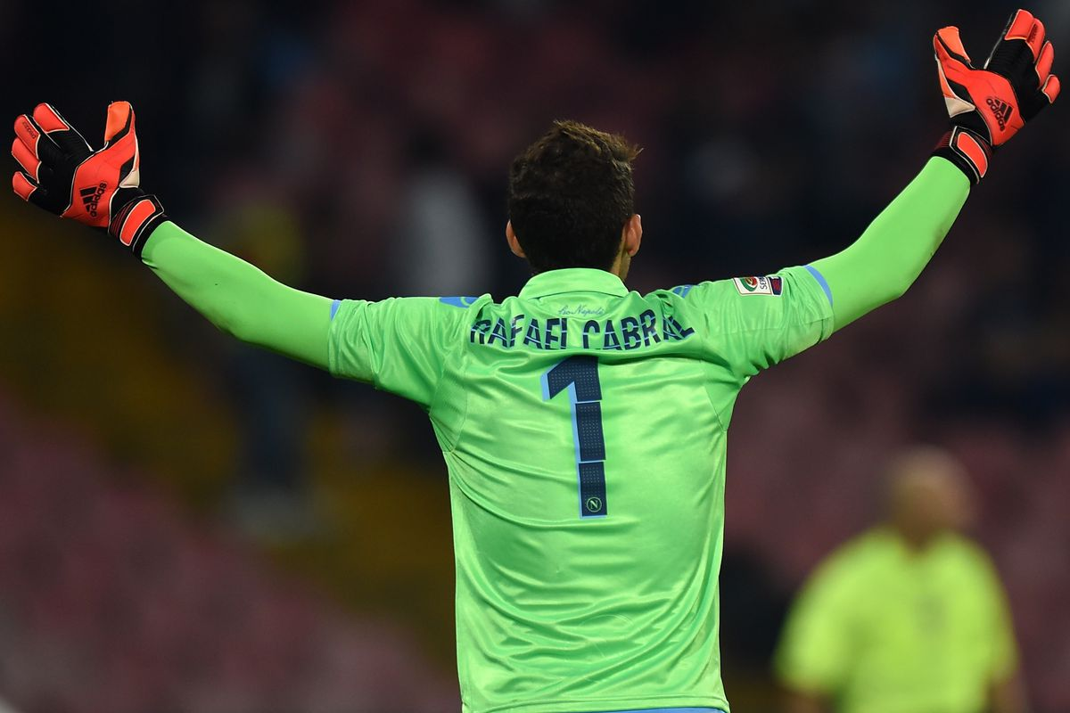 Bow down to this man, for he is a goalkeeping god.