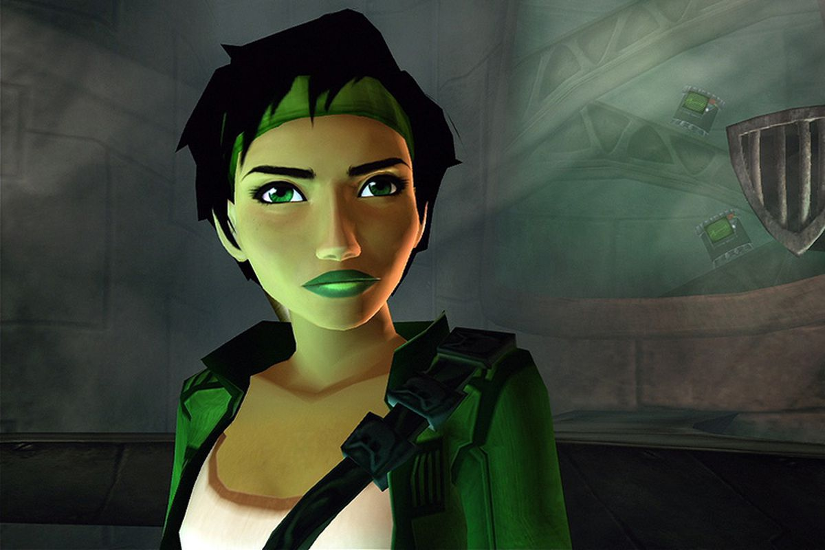 a close-up of Jade, the protagonist of Beyond Good & Evil