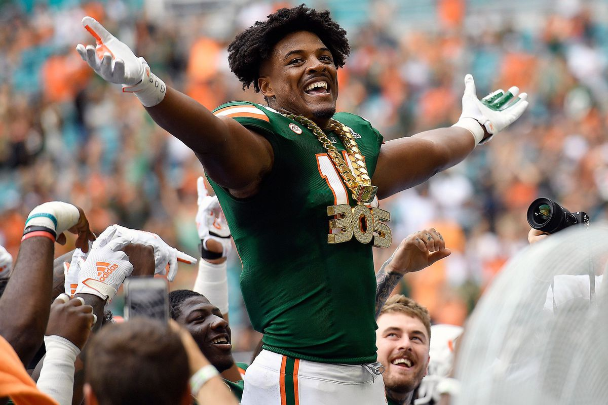 Miami Hurricanes' Greg Rousseau: 'We're going to do big things this year'