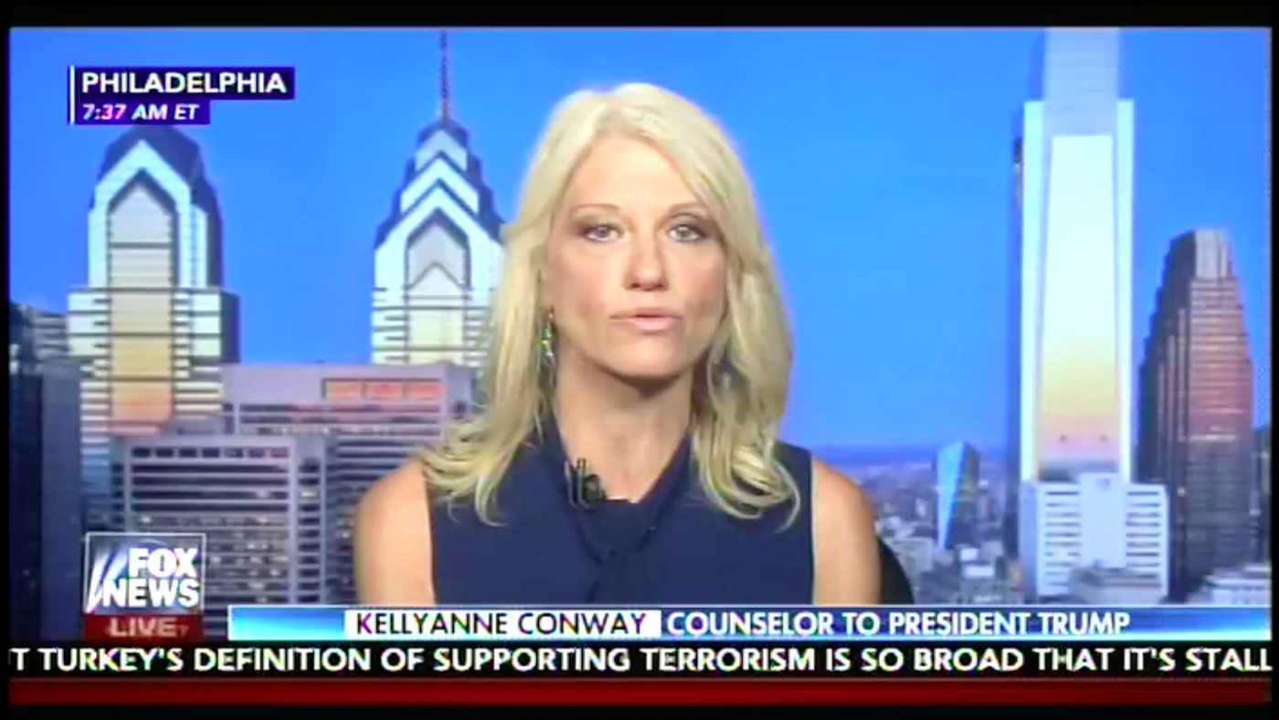 Fox's interview with Kellyanne Conway made Good Morning America's