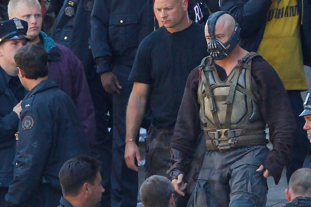 """On Location For """"The Dark Knight Rises"""""""