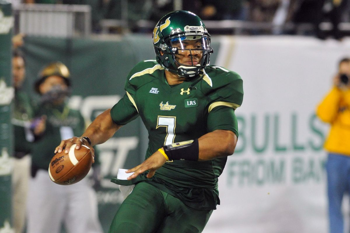 B.J. Daniels, part of the very good 2008 USF recruiting class.