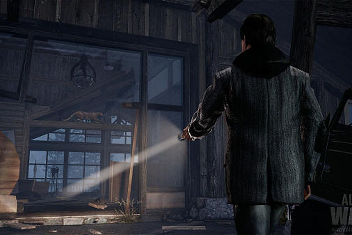 """In this video game image released by Microsoft, a scene is shown from the game """"Alan Wake."""""""