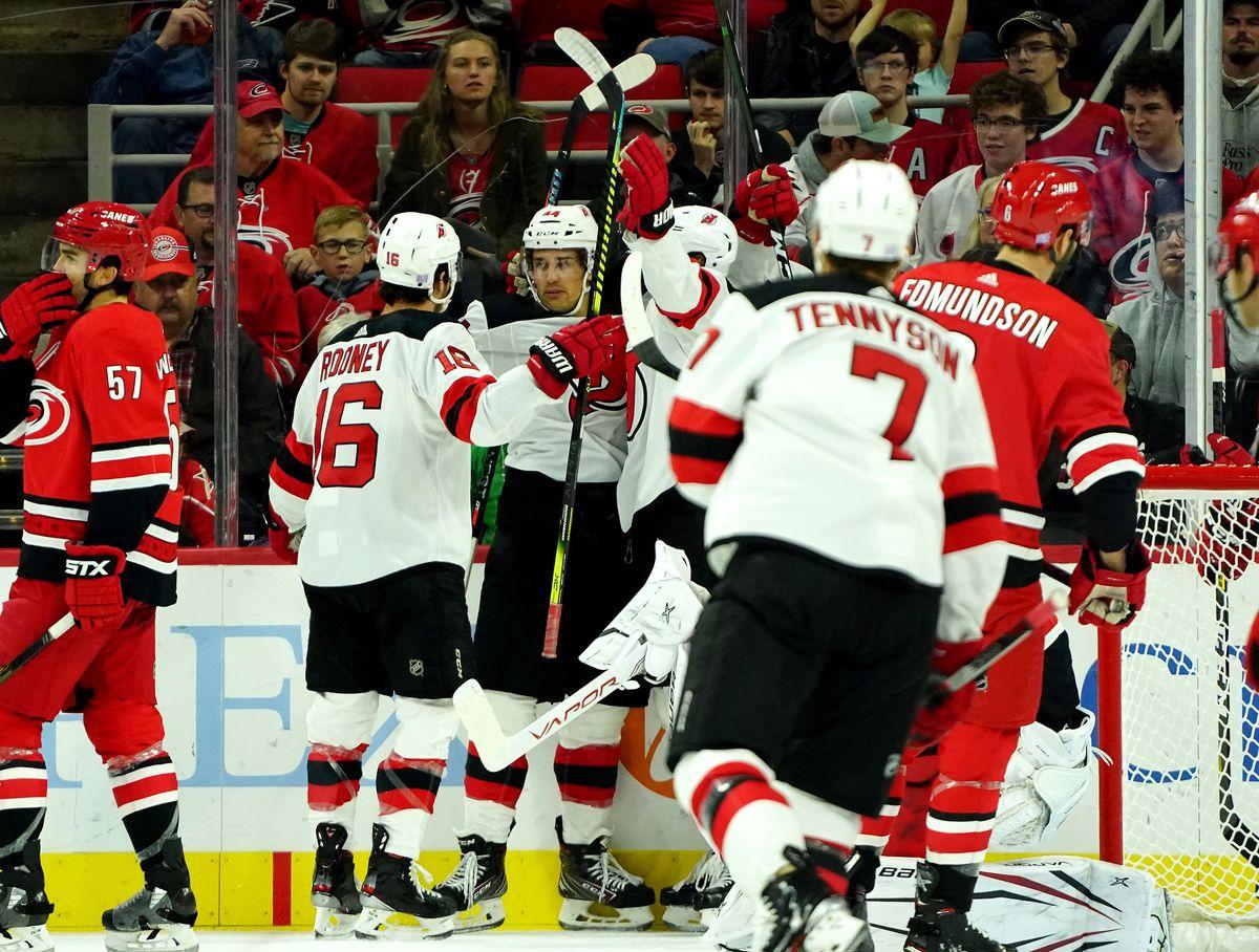 New Jersey Devils v Carolina Hurricanes