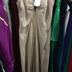Nicole Miller keyhole goddess gown, $105 (was $630)