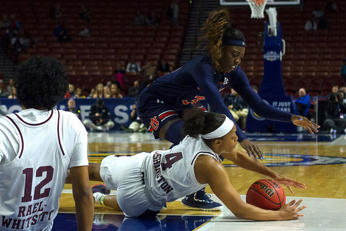 NCAA Womens Basketball: SEC Conference Tournament - Auburn vs Texas A&M