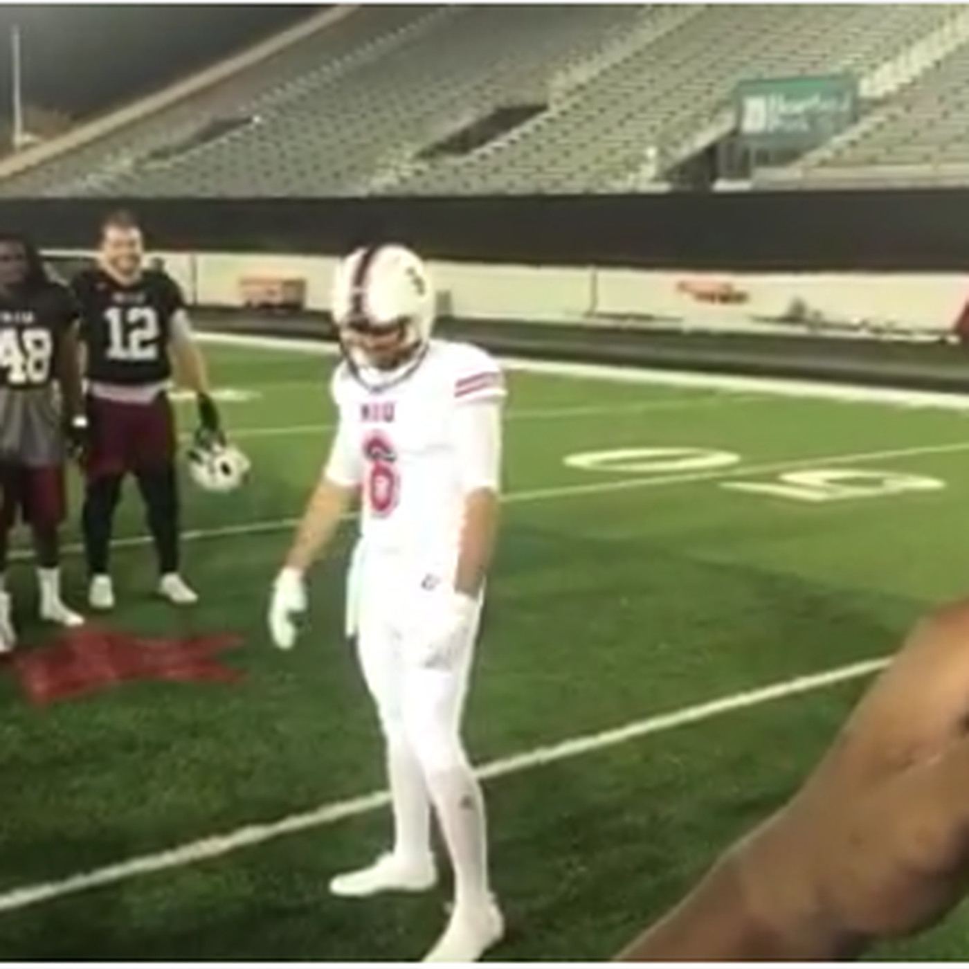 6d6dfb175 NIU debuts new alternate uniform ahead of game vs. Nebraska - Hustle ...