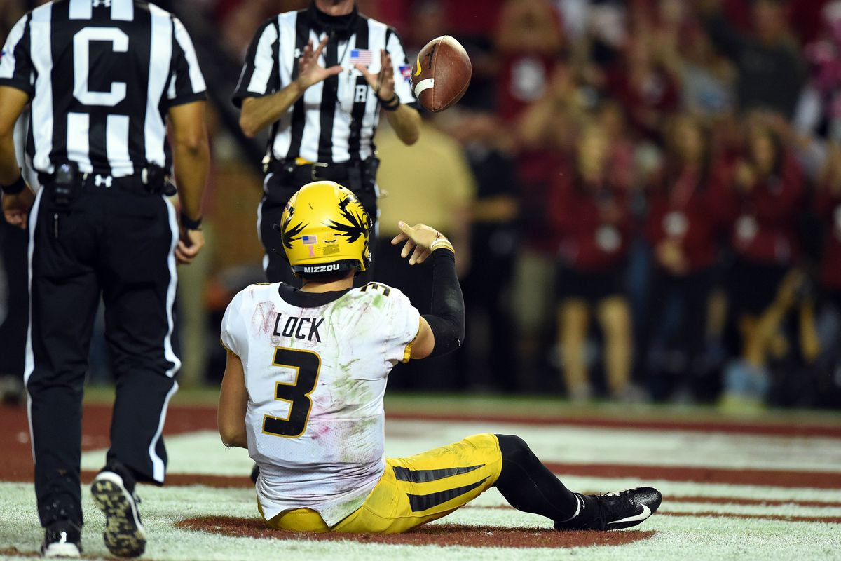 Drew Lock S Critics Were Not Silenced In Loss To No 1 Alabama