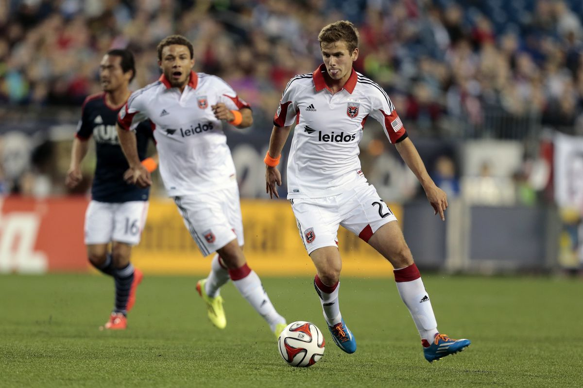 SOCCER: MAY 24 MLS - DC United at Revolution