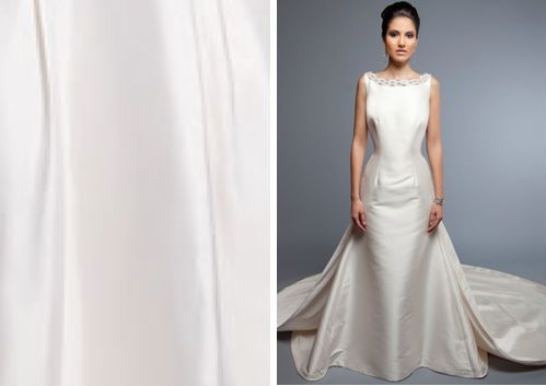 Racked Glossary Everything You Need To Know About Wedding Gown Fabrics