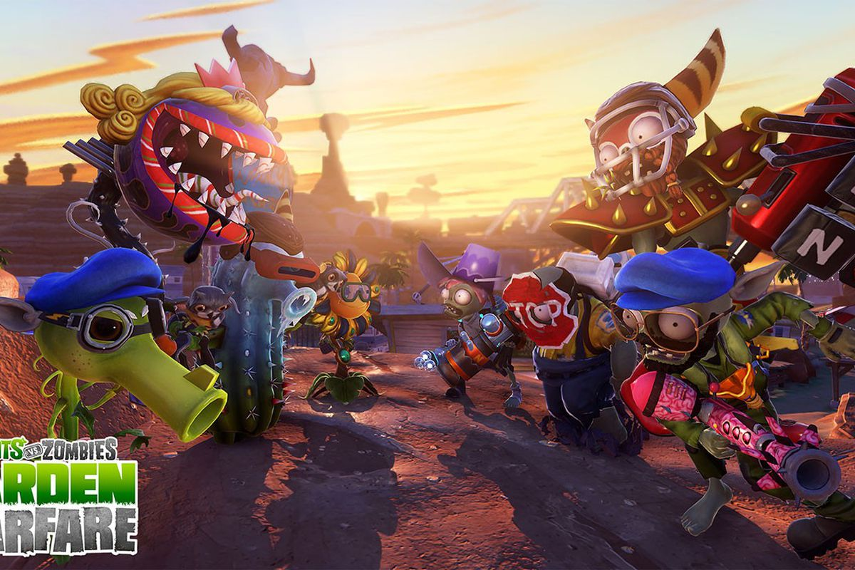 Plants Vs Zombies Garden Warfare Hits Ps3 Ps4 On Aug 19 Polygon