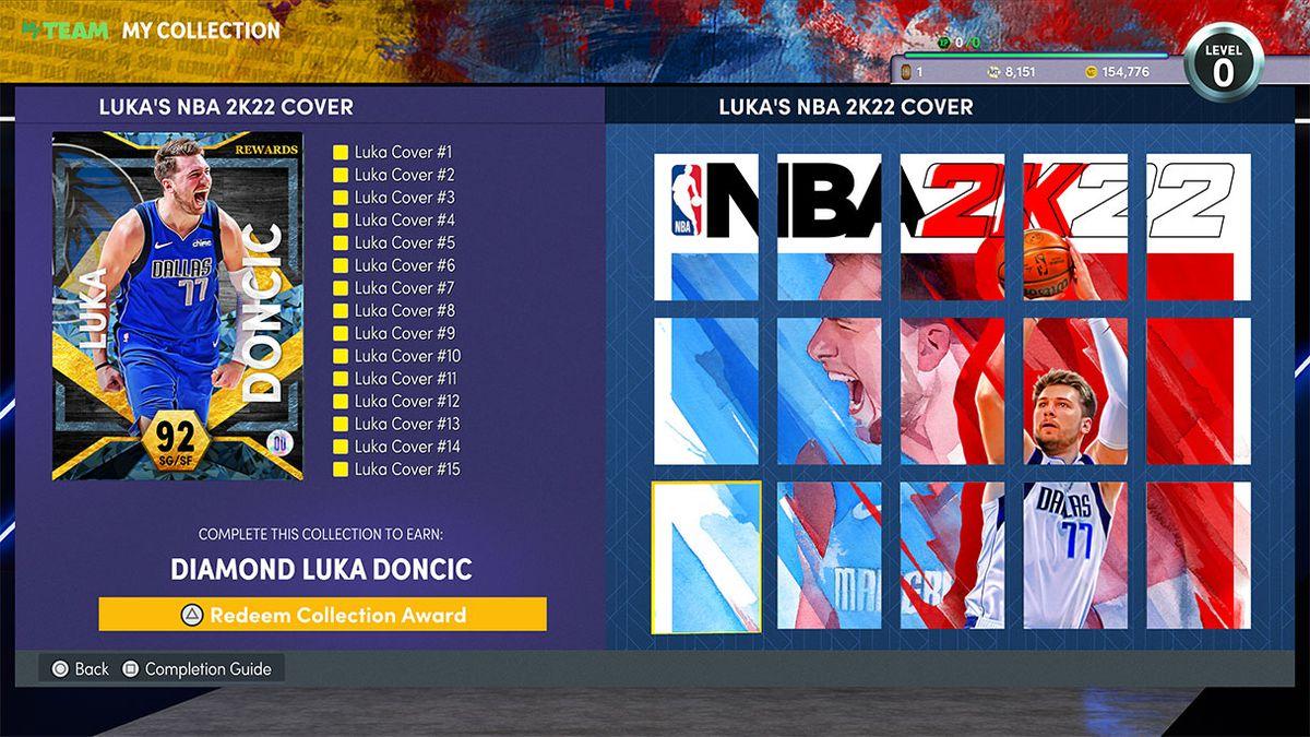 NBA 2K22 MyTeam has a mural for Dallas Mavericks star Luka Doncic.
