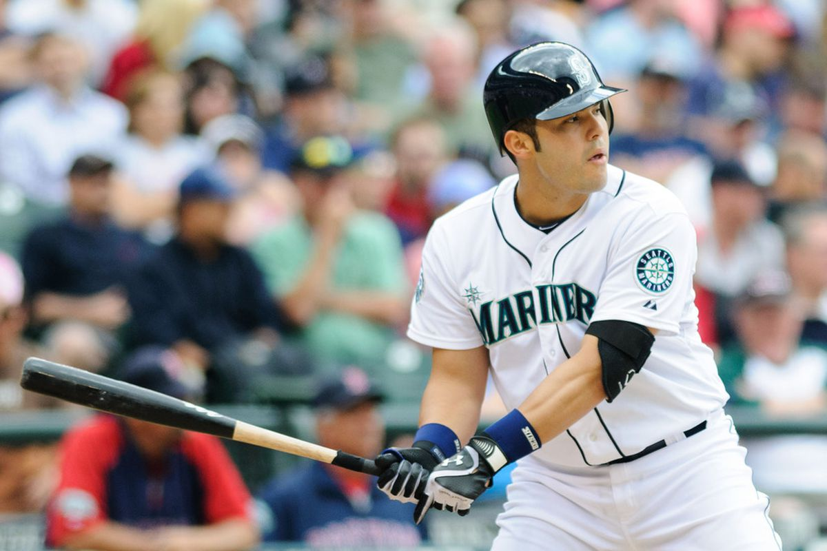 Former Yankee Jesus Montero and the Seattle Mariners face the Yankees for three games this week. Steven Bisig-US PRESSWIRE
