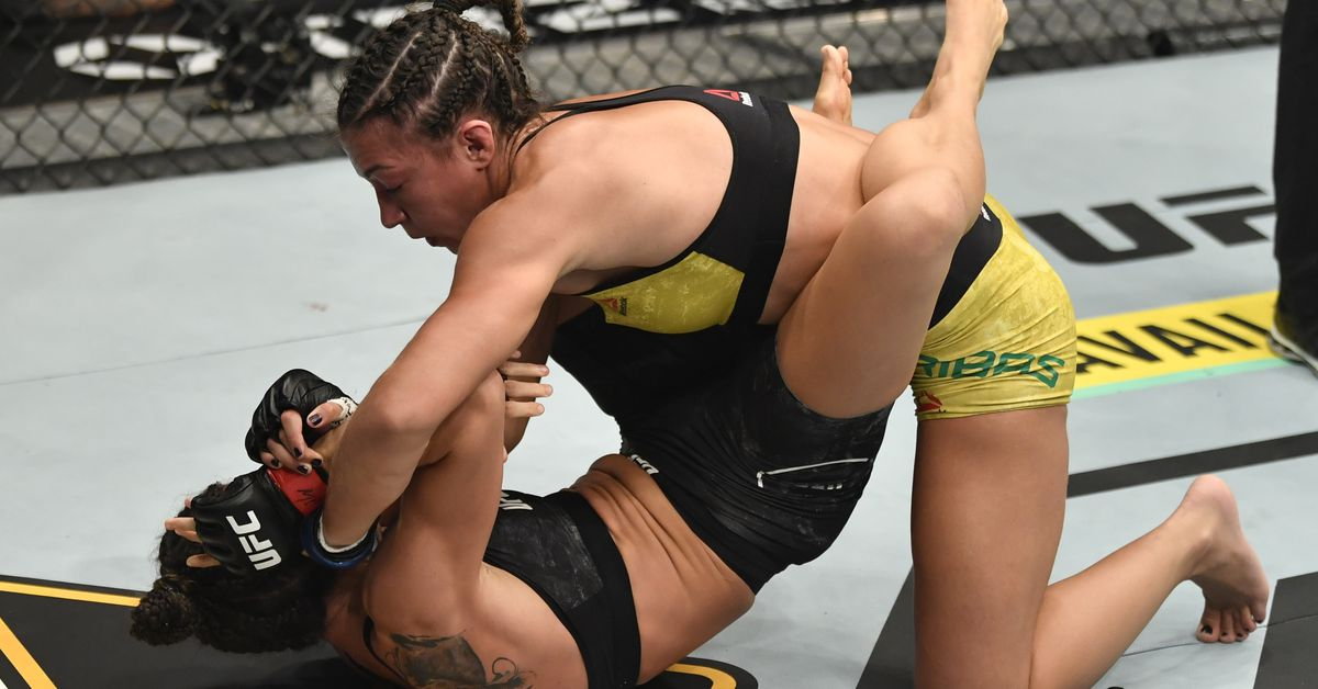 Amanda Ribas releases statement after UFC 257 loss to Marina Rodriguez
