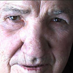 Former world champion boxer and lifetime West Jordan citizen Gene Fullmer at his home in West Jordan, Utah on Friday, Dec., 11, 2009.  Mike Terry, Deseret News.