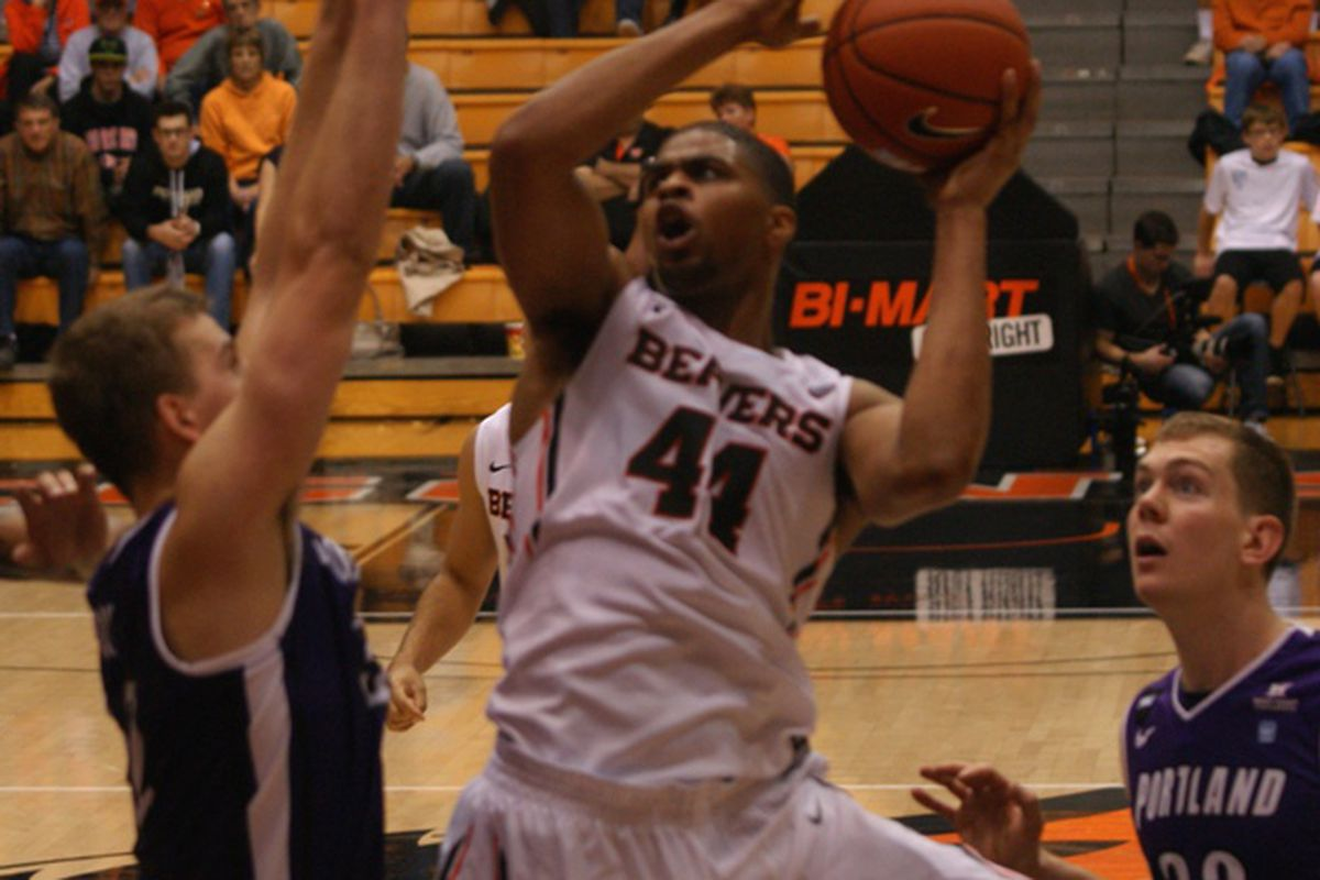 Devon Collier will look to duplicate his career high 32 points scored at DePaul when the Beavers take on Arkansas-Pine Bluff.