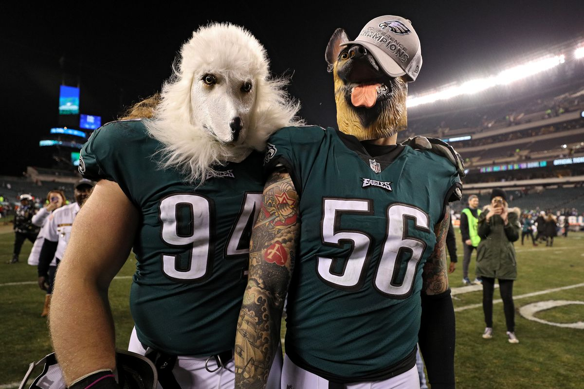 e1b2f22202a Super Bowl 2018: Everyone loves the underdog Eagles, especially the ...