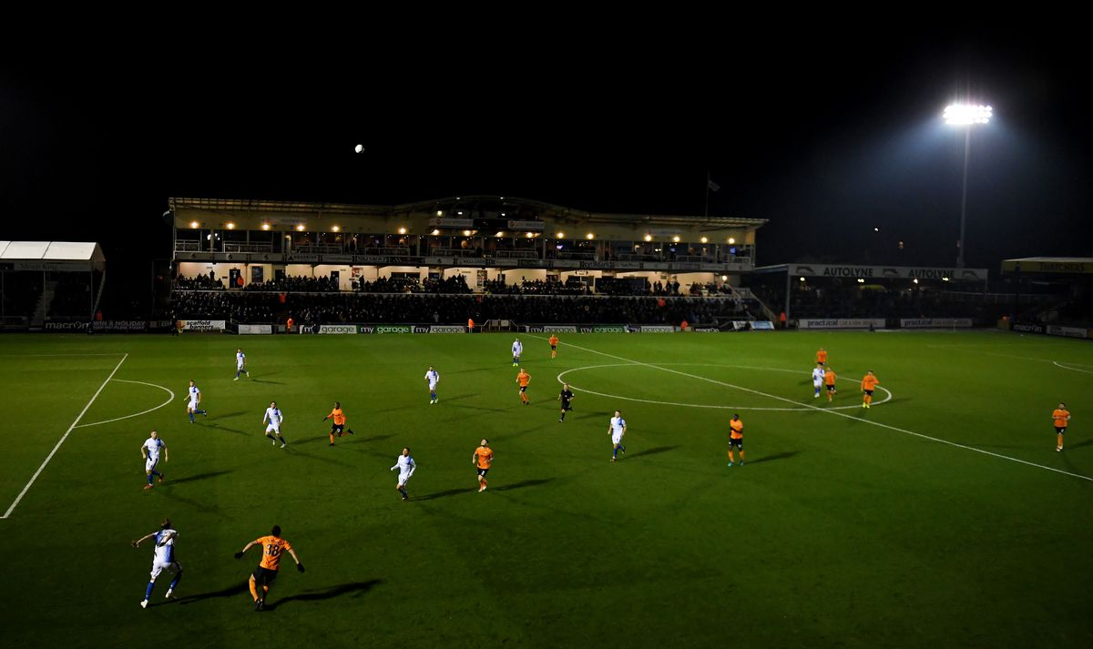 Bristol Rovers v Barnet - FA Cup First Round Replay