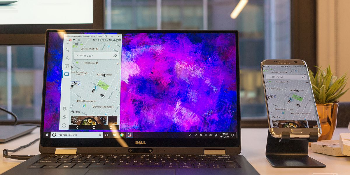 Dell's new PCs will display incoming phone calls and text