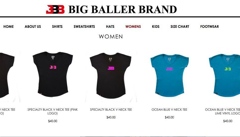 "(Via <a href=""https://bigballerbrand.com/collections/womens"">BigBallerBrand.com</a>)"