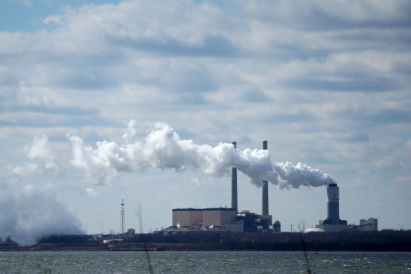 A coal-fired power plant in Baltimore, Maryland.