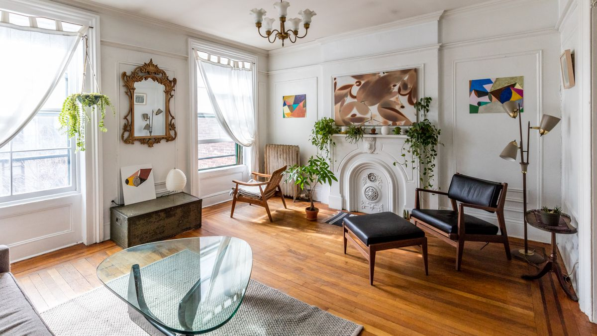 Midcentury modern and 19th-century charm collide in a Greenpoint ...